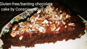 super moist bantng/gluten-free chocolate cake